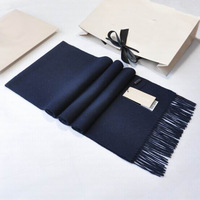winter cashmere scarf Man and women  Pure color Mix color B-003