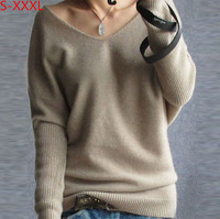 New Casual 2014 Fashion Pure Cashmere Sweater Women Pullovers Sweater 100% Cashmere Cardigan Basic Shirt Big Free Shipping G 04