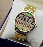2014 New Fashion quartz Watch Rose Glod Wristwatches Girl Ladies Silicone Watch Quartz Leisure women dress Watches