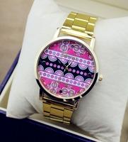 Summer Fashion Latest Popular Luxurious Golden Watches Women Dress Watch Famous New Brand Ladies Wristwatch Hours