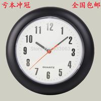 Free shpping Fashion 8 mute wall clock brief fashion child walls clock good quality  pothook
