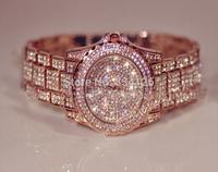 2014 New Fashion Crystal Luxury Women Rhinestone Watch Woman Dress Watches Ladies Female High Quality Wristwatches Free Shipping