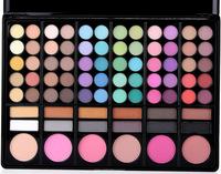 78 Warm Color Eye Shadow Palette Neutral Nude Eyeshadow Cosmetic Makeup Power Set