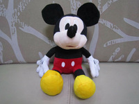 30cm plush mickey mouse  soft toys plush mickey kids toy mouse toys one piece  free shipping