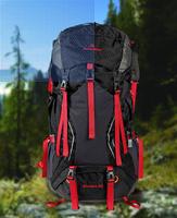 Waterproof mountaineering bags 60L Backpack Travel ALICE backpack multifunctional outdoor men and women 70*27*15cm HWB106 Y6P
