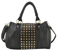 Free  style famous brand designer high quality women handbag punk rivet style women messenger bags carteras bolsas  sac a main
