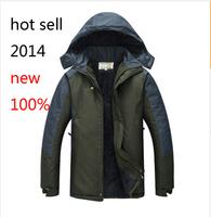 2014 primaverae autumn camping hiking jacket outdoor sportswear, outerwear men jacket waterproof windproof velvet
