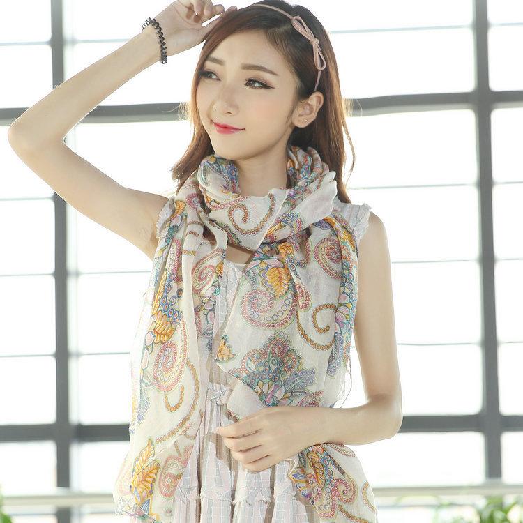 190 см япония стиль шарфы