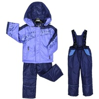 Hot Sell Boys Down Suit Winter Children Cotton Jacket Kids Set And Overalls Pants Kid Warm Clothing Free Shipping 11-23