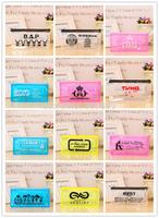 wholesale 12pcs/lot bap/shinee/infinte/snsd/bigbang/jyj/tvxq/f(x)/ftisland/cnblue/2pm/beast  zipper pencil bag free shipping