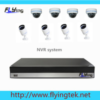 8 Channel Indoor dome + waterproof  light Security Camera System cctv 8CH 1080P NVR Kit for DIY CCTV Systems