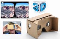 Google Cardboard VR 3D Glasses Kit Clone Easy Assembly Simple VR Full Kit