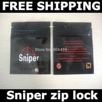 Free shipping,Sniper zip lock bags,zip lock pouch