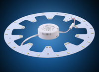 HOT! LED PANEL Circle Light AC85-265V SMD5730 10w 12w 15w 18w 20w 24w LED Round Ceiling board the circular lamp +Driver+Magnetic