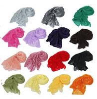 Women's Scarves & Wraps Female Fashion Candy Color Long Soft Scarf Wrap Girls Shawl