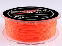 Free shipping! PE Dyneema Braided Fishing Line 4 strands Orange 100M 15LB 0.16mm high quality spectra braided fishing line