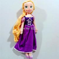 Free Shipping Original Princess Rapunzel Plush Doll 52CM Bonecas Rapunzel Princesas Brinquedos Meninas Dolls for Girls