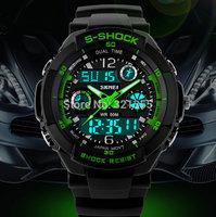 Watches Men S-SHOCK Sports Military Watch Fashion Wristwatches Dual time Digital Analog Quartz LED Watches Relogio Masculino