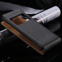 Hot Selling! Luxury 1pcs Korean Genuine Split Leather Cover For Nokia N8 Flip Cellphone Case Retail Free Shipping