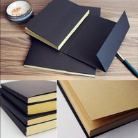 Vintage Kraft Paper Blank Pages Sketch Book Stationery  Diary Book Student Gift Notebook