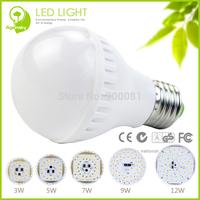 5 watt LED Bulb 220 volt 2835 smd Cool/Warm white 350 lumen LED Bulb luminarias para sala de jantar 10pcs/lot + Free Shipping