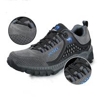 Genuine Leather Hiking Shoes New 2014 Autumn/Winter Men Shoes Outdoor Waterproof Walking Climbing Shoes Zapatillas