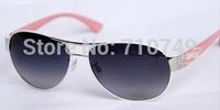 Fashion women high quality polarized tr90 sunglasses,2014 new free shipping UV protection sun glasses,retro style for women 3307