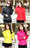 2014 new design fashion ladies short coat winter down jackets women, women's winter coat jacket women coat color of clothes