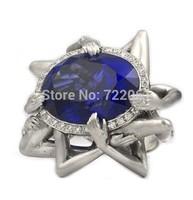 Se7en  Lust  rings for women sapphire  sterling silver jewelry