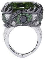 Se7en Envy rings for women sapphire emerald   sterling silver jewelry