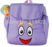 2014 cute cartoon dora backpack baby school bag child mini kindergarten bag free shipping