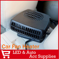 12V Car Auto Vehicle Portable Ceramic Heater Heating Fan Defroster Demister Black 150W