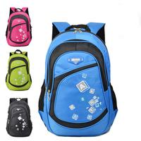 Primary school students school bag 3 - 6 back double-shoulder child school bag waterproof 4-6 relief