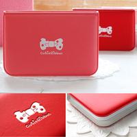 New Style Sweet Women Cartoon Bow Ribbon Bowknot Card Case Credit ID Bank Card Bus Card Bag Card Holder Ladies Girls B9034#S5