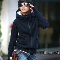 2014 free shipping Hot sale!! Women's Hooded Sweatshirts Outwear Hoodies Women Ladies fashion cartoon Coat Winter clothes