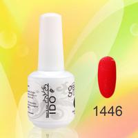 24pcs DHL free shipping 100% natural resin soak off uv gel nail color gel nail (22colors+1top+1base) uv