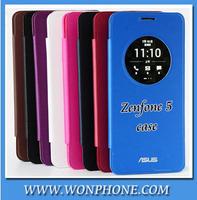 Asus original case,Asus Zonfone 5 flip leather case,Asus zenfone 5 case intellectual protection holster,Battery Housing Case