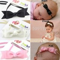 New Baby Bow Headband Hair Bowknot Headbands Infant Hair Accessories Girls Bow Headband birthday prop 10pcs/lot HB280