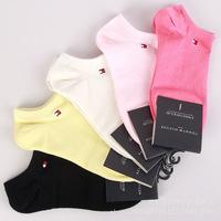 2014 Best Seller Summer Bamboo Socks Brand Women Socks Sport Socks 5 solid colors per lot
