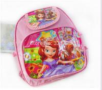 2015 new cartoon girl school backpack. girl cartoon bag.student backpack .school bag for girls,free shipping