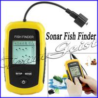 Portable Wireless Sonar Fish Finder 328FT/100m Depth Underwater Fishing Camera Sounder Alarm Transducer Fishfinder Free Shipping