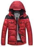 Fashion Male Duck Down Parkas Overcoat Thick Jackets Coats Winter Warm Men's Clothing Outwear Parkas Napka Jaqueta COAT-2827135