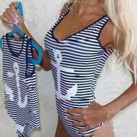 2014 Striped Rock Shirts Spring Summer Tops For Women Fashion hot-selling swimwear 951