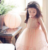 5pieces/lot, Summer beautiful Little Girls sleeveless lace Dress Baby Dresses, A-076