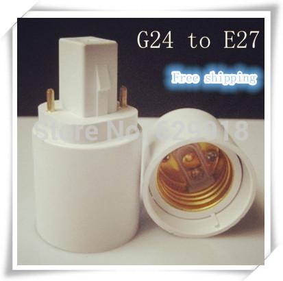 Цоколь лампы OEM G24 G24 E27 E27 G24 LED convertor
