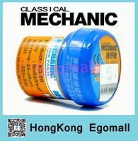 New 3PCS/Lot 100% Hong Kong MECHANIC BGA Solder Flux Paste Soldering Tin Cream Sn63/Pb37 25-45um XG-50 42g H2457