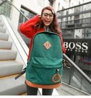 Wholesale Korean high school students bag shoulder bag men and women Institute wind wave packet leisure travel backpack fashion