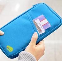 NEW WELL Travel Passport ID Card Key Hand Zipper Case Bag Pouch Wallet card holder passport cover women handbag wallet
