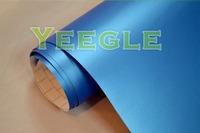 1.52x30M 5x98FT Air Free 0.18mm Protective Deep Blue matt car vinyl sticker Free Shipping