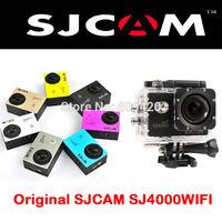 Original!New SJCAM Upgraded Version Original SJ4000 WiFi Sport Camera Diving 30M Waterproof G-Sensor Gopro Style Action Camera
